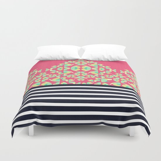 Sick of Chevrons Duvet Cover