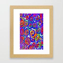 Pollocking Framed Art Print