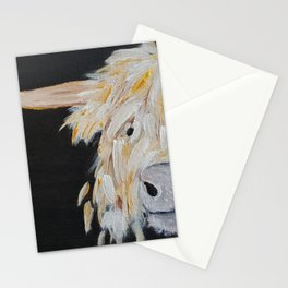 Oro, the Highland Cow Stationery Cards