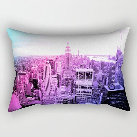 New York City : Pastel  Rectangular Pillow