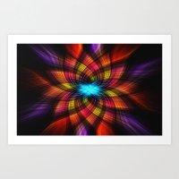Twirl 2 Art Print