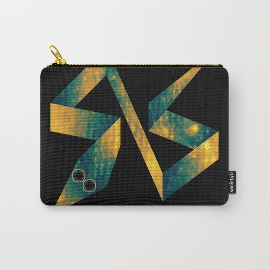Snake Exploring Space Carry-All Pouch