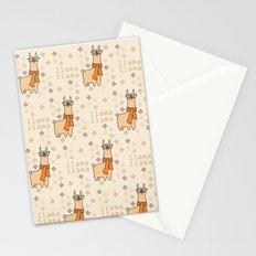 Llama Llama Pattern Stationery Cards