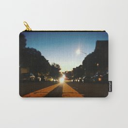 Double Yellow Carry-All Pouch