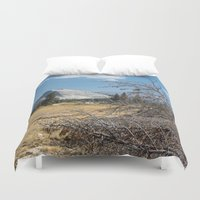 yosemite Duvet Covers featuring Yosemite by Adelaine Phee
