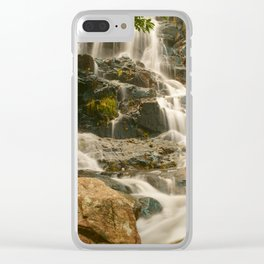 Silky Cascading Waterfall Hong Kong Clear iPhone Case