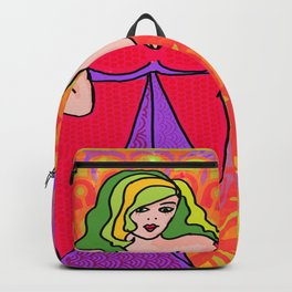 Curvy Groovy Girl Backpack