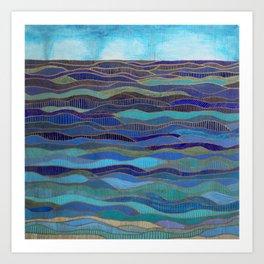 In Calm Waters Art Print