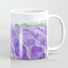 lavender farm Coffee Mug