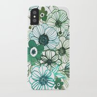 oana befort iPhone & iPod Cases featuring FLORALS by Oana Befort