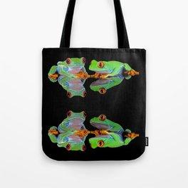 DOUBLE MIRROR FROGGINESS Tote Bag