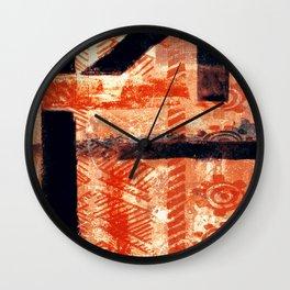 Artesanato Indígena (indigenous crafts) Wall Clock