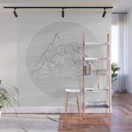 Mountain lines Wall Mural