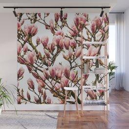 Tulip magnolia Wall Mural