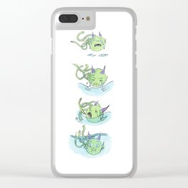 Monstrous: Drown In My Own Tears Clear iPhone Case