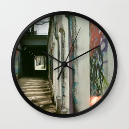A Walk in the City Wall Clock