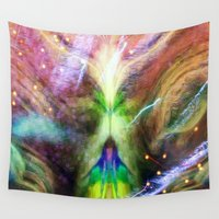 journey Wall Tapestries featuring Journey by Geni