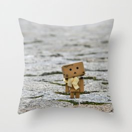 I'm on the world alone and yet not alone enough ... Throw Pillow