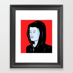 Mr Robot Framed Art Print