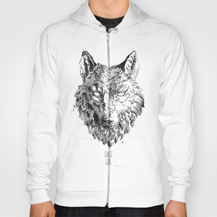 Forest Gods | Wolf Hoody