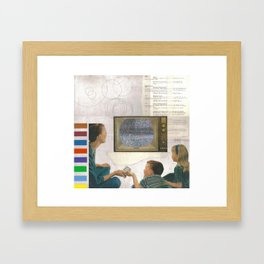 BBC Framed Art Print