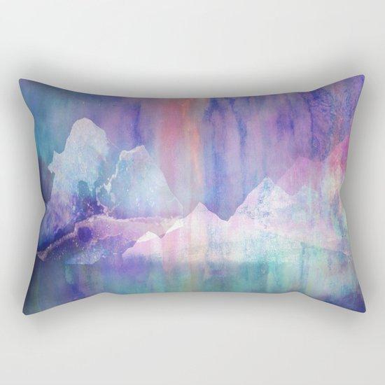 Northern Lights Adventure Rectangular Pillow