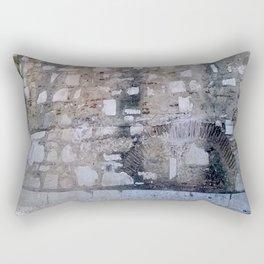 Lisbon archaeological Museum of Carmo_wall pattern Rectangular Pillow
