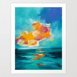 Morning Breaks Art Print