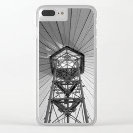 Tent Ceiling Clear iPhone Case