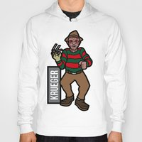freddy krueger Hoodies featuring Freddy Krueger by AhamSandwich