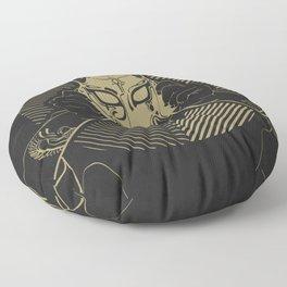Dog Costume Art Floor Pillow