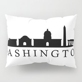 skyline washington Pillow Sham