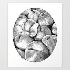 asc 628 - Les pêches de l'empereur (More juicy fruits) Art Print