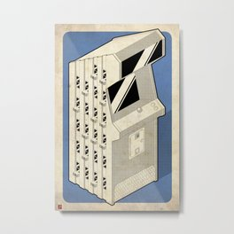 New York Aug16 &Jan16 Metal Print