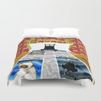 duvet cover Duvet Covers featuring Duvet Cover by Andrew Hitchen