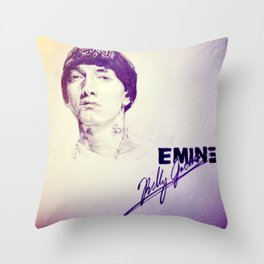 Slim Shady Throw Pillow