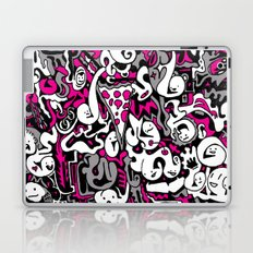 Ghost Doodles Laptop & iPad Skin