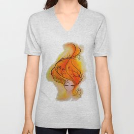 Fire Within Unisex V-Neck