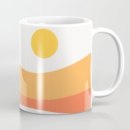 Geometric Landscape 22 Day Coffee Mug