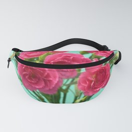 Pink Carnations Fanny Pack
