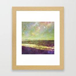 Diamond Creek Beach Framed Art Print