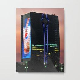 King's Road Tower in Jeddah, Saudi Arabia Metal Print
