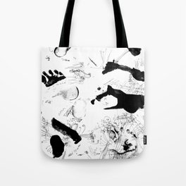 Dance between fate and free will Tote Bag