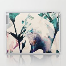 Watercolor Flowers on canvas Laptop & iPad Skin