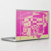 pop art Laptop & iPad Skins featuring Pop by MonsterBrown