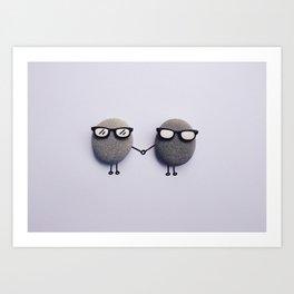 Love Duo Art Print