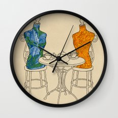 High Tea Wall Clock