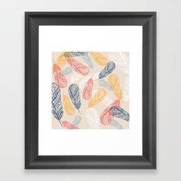 FeathersI Framed Art Print
