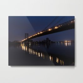 East River early in the morning Metal Print