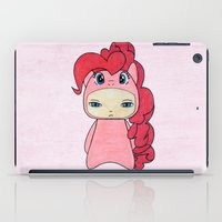 mlp iPad Cases featuring A Boy - Pinkie Pie by Christophe Chiozzi